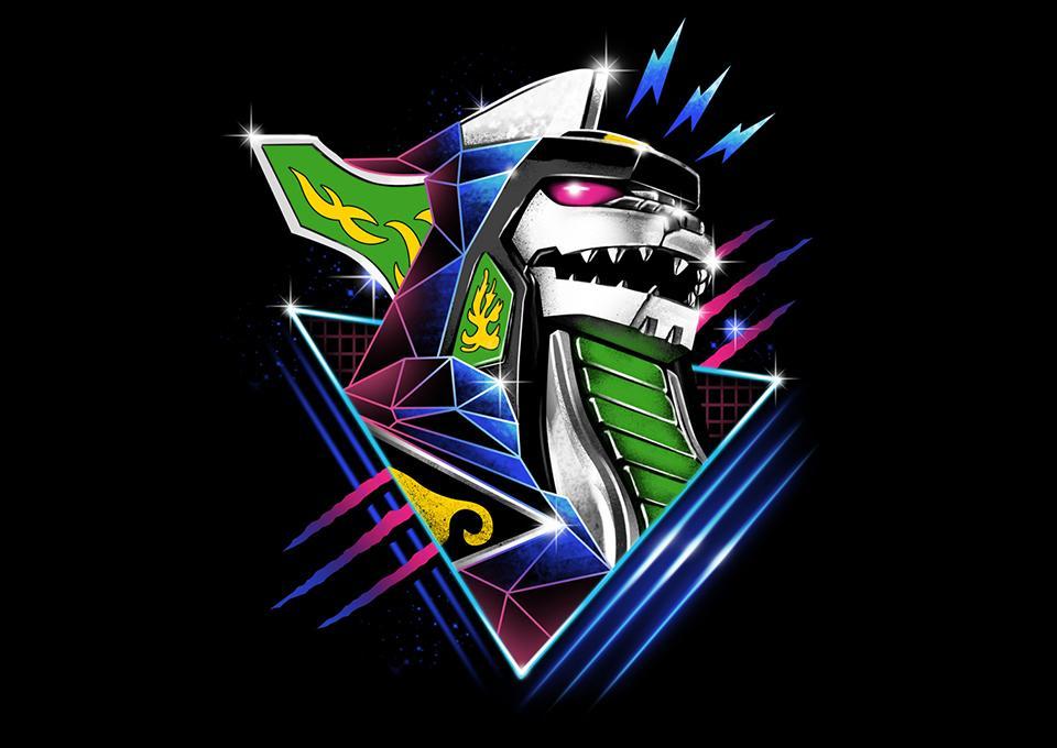 TeeFury: Epic Green Dragon