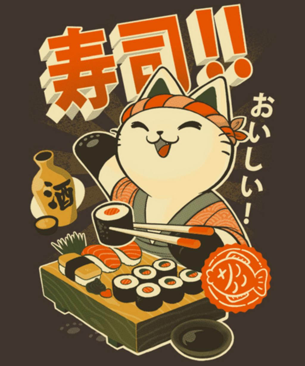 Qwertee: Sushi chef