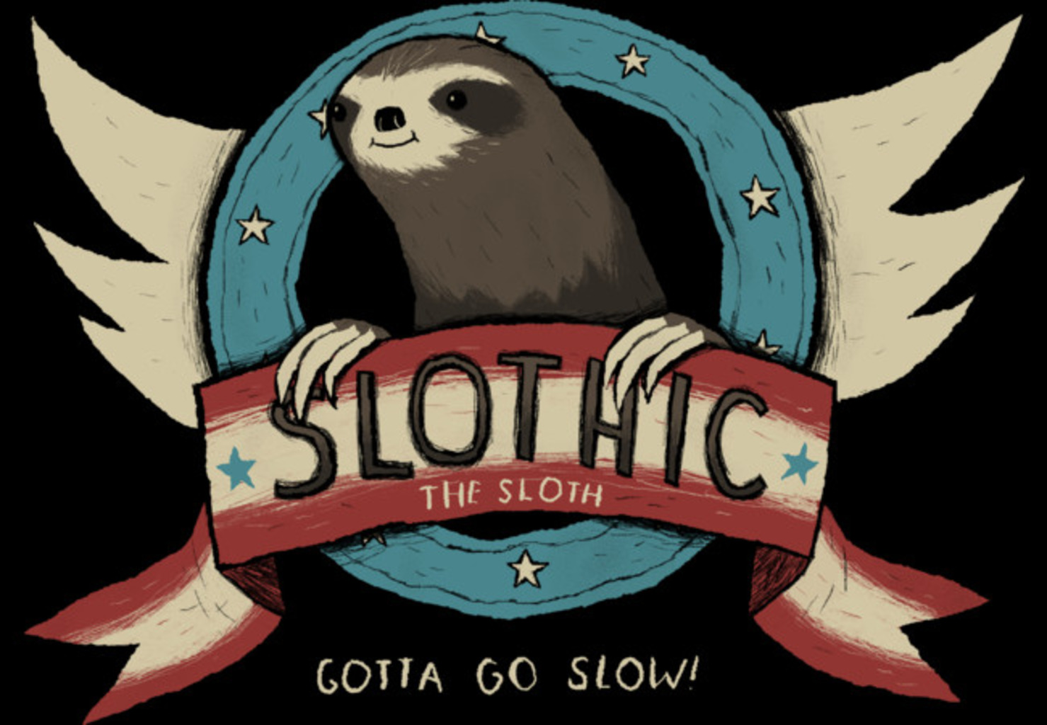 Design by Humans: slothic