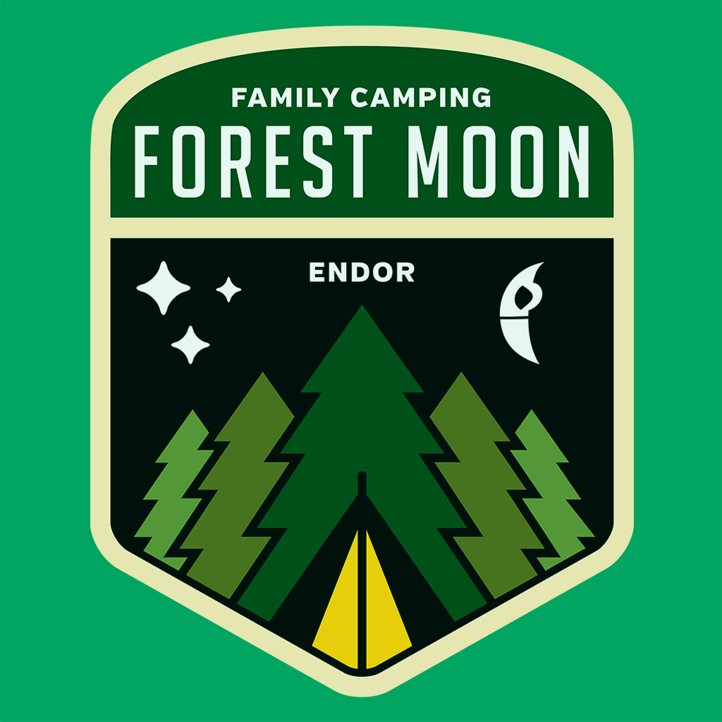 Pop-Up Tee: Forest Moon