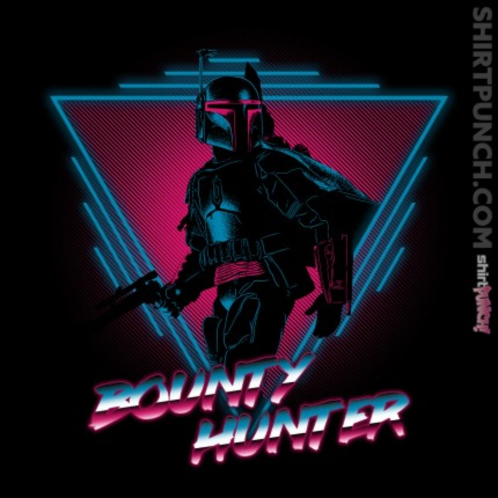 ShirtPunch: The Bounty Hunter
