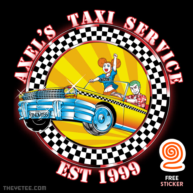 The Yetee: Axel's Taxi Service