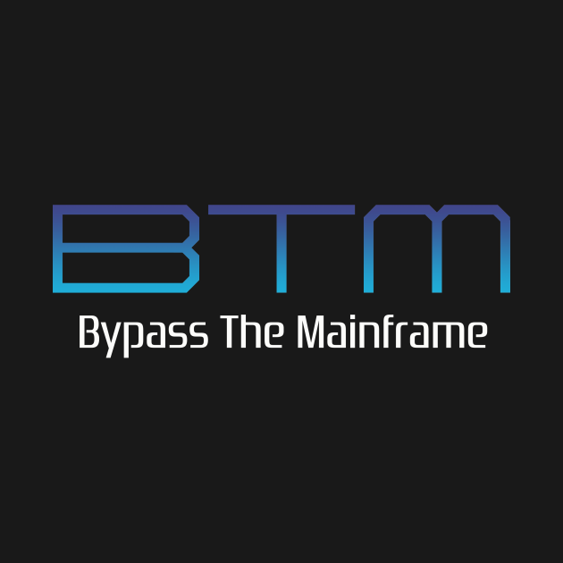 TeePublic: Bypass The Mainframe PS2 Logo