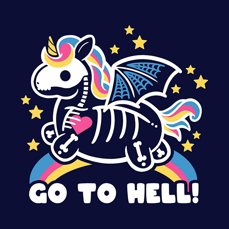 Pampling: Skeleton Unicorn