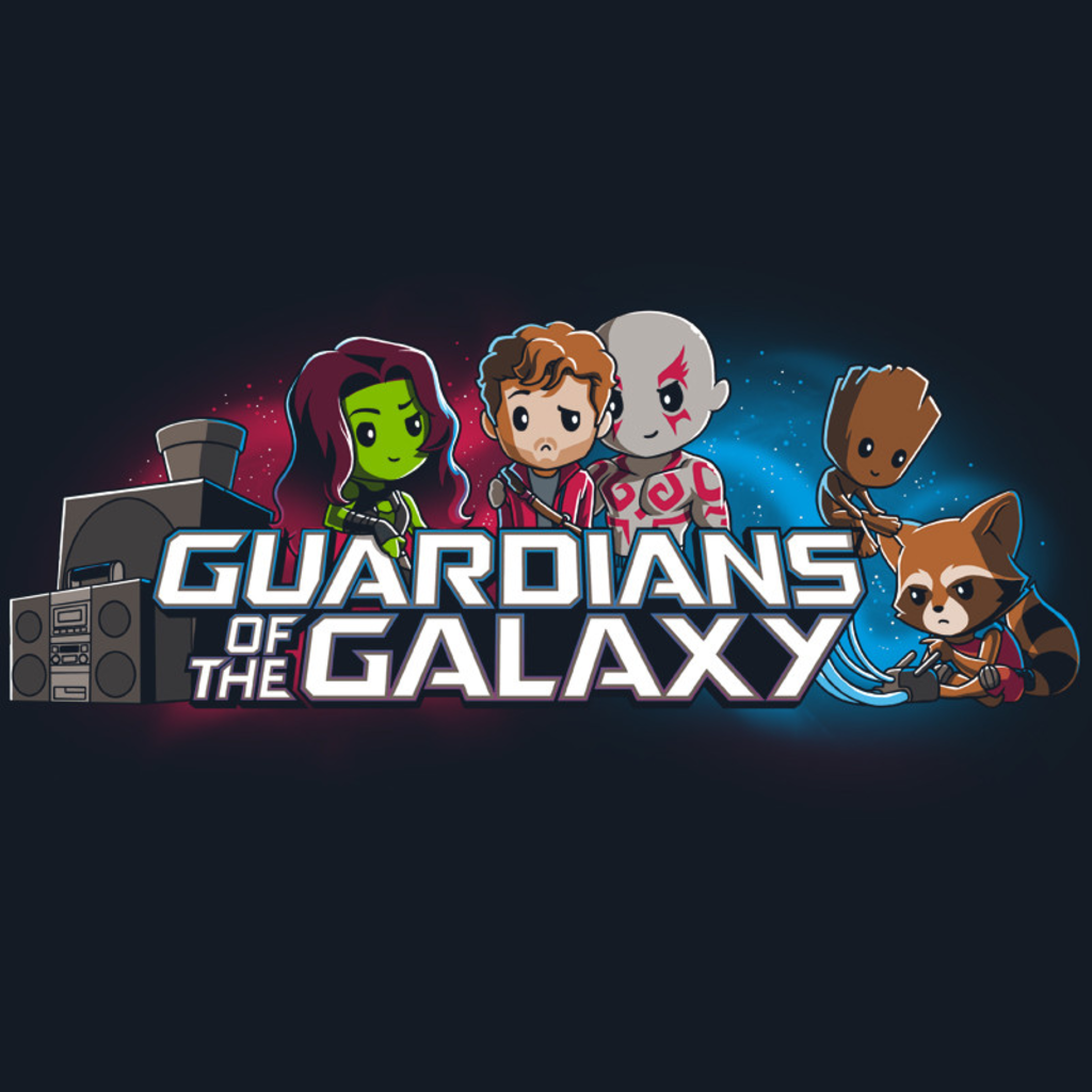 TeeTurtle: Guardians of the Galaxy Shirt