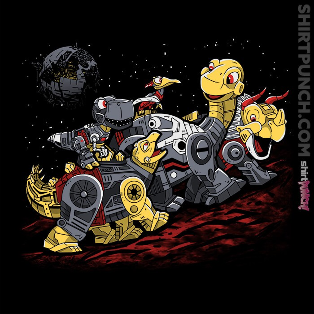 ShirtPunch: Bots Before Time