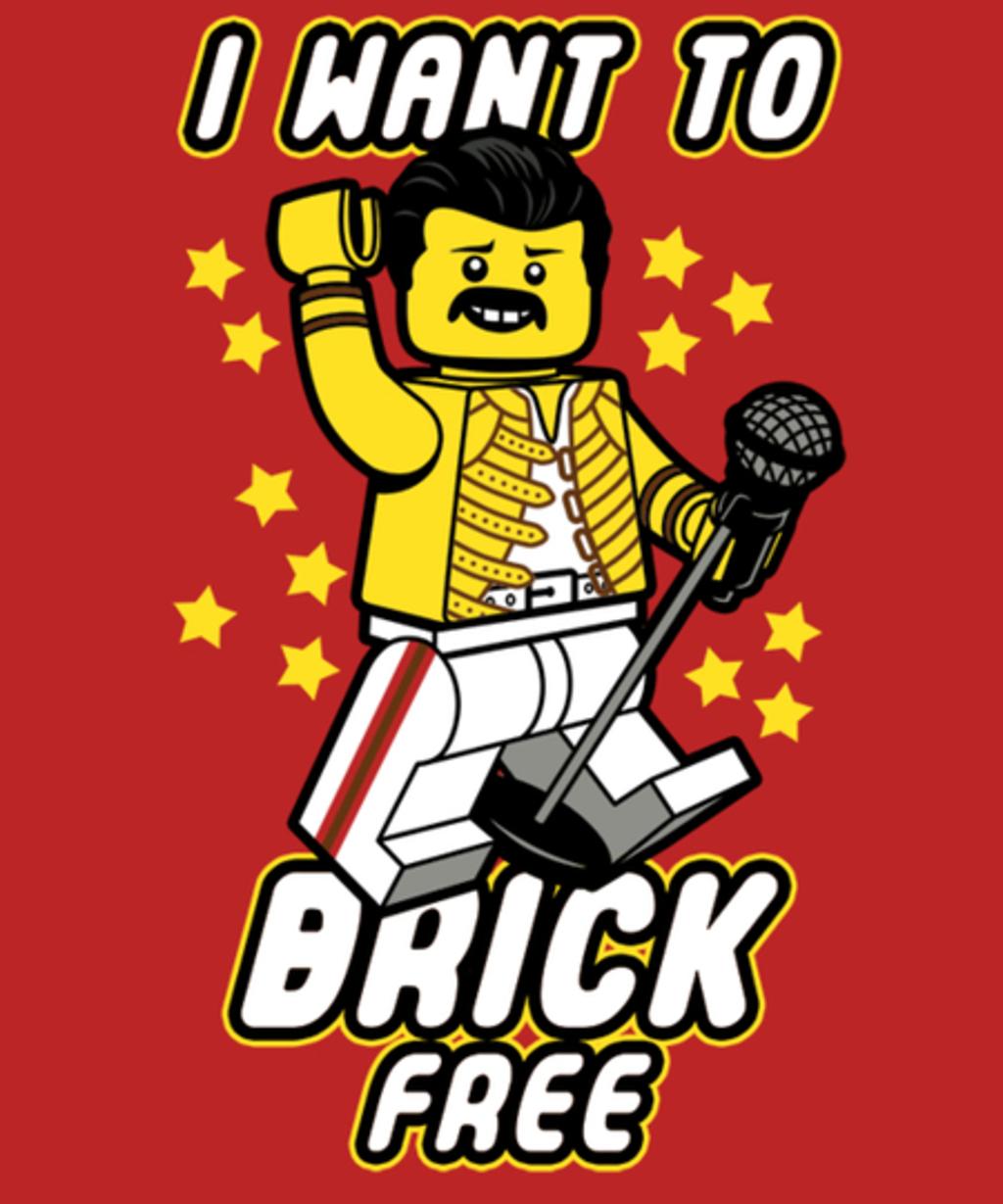 Qwertee: I Want to Brick Free