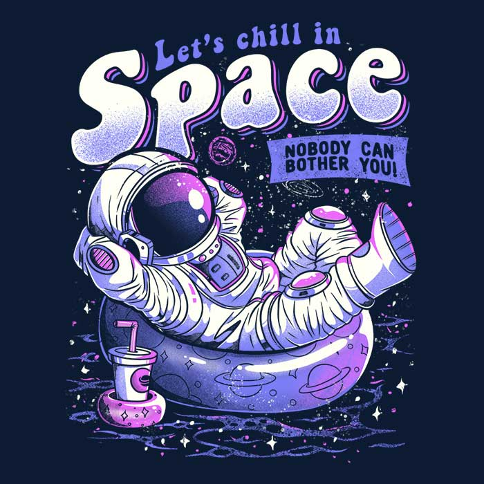 Once Upon a Tee: Chilling in Space