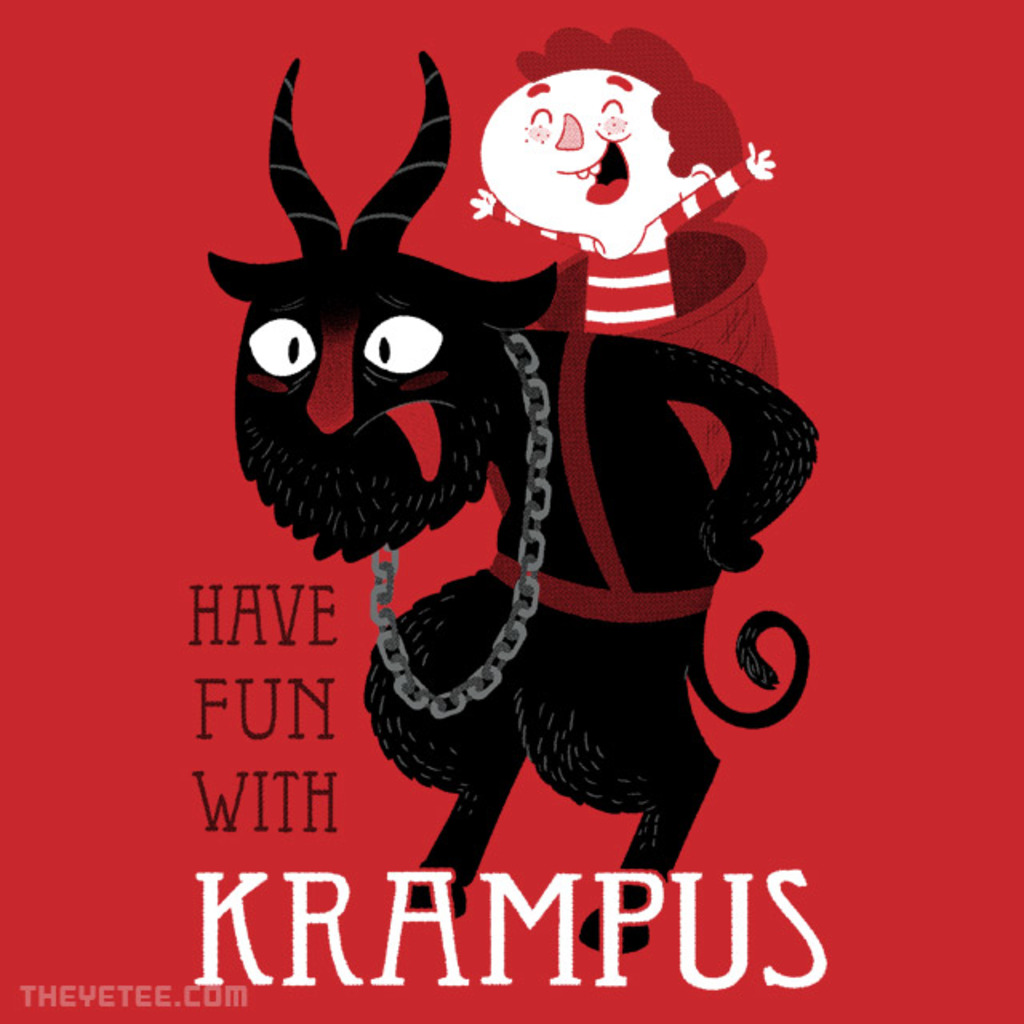 The Yetee: Have Fun With Krampus