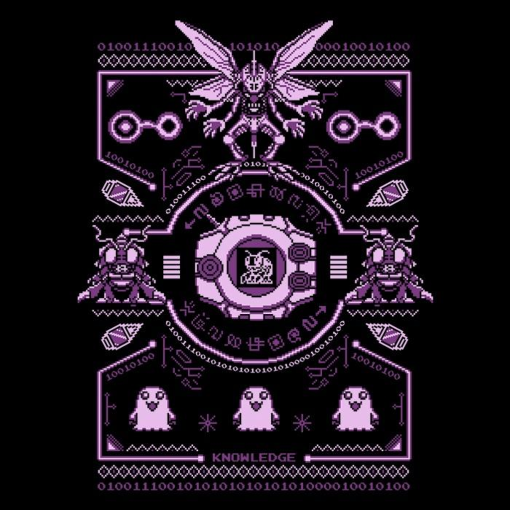 Once Upon a Tee: Digital Knowledge Sweater