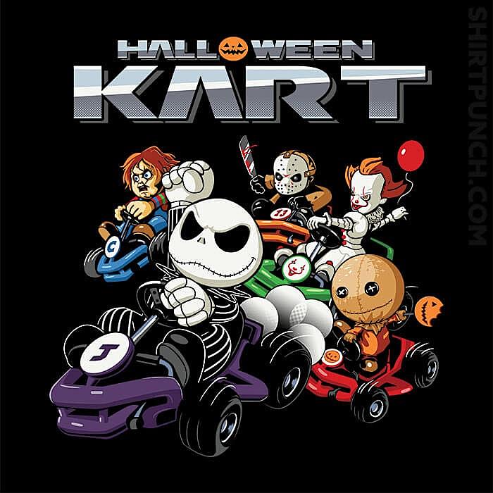 ShirtPunch: Halloween Kart