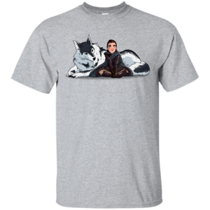 Pop-Up Tee: Arya and Nymeria