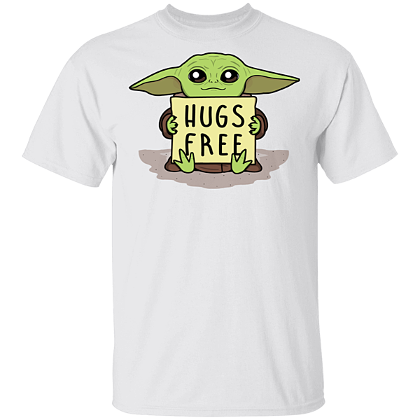 Pop-Up Tee: Hugs Free