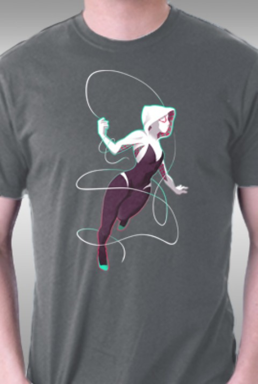 TeeFury: Spider-Gwen