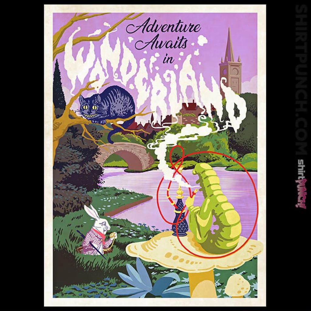 ShirtPunch: Adventure Awaits In Wonderland