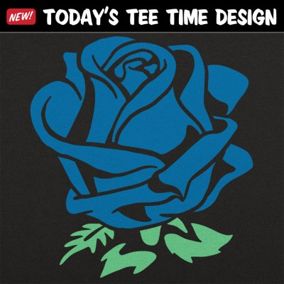 6 Dollar Shirts: Blue Rose