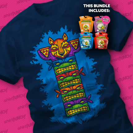 ShirtPunch: They're Heroes in a Half-Shell Bundle