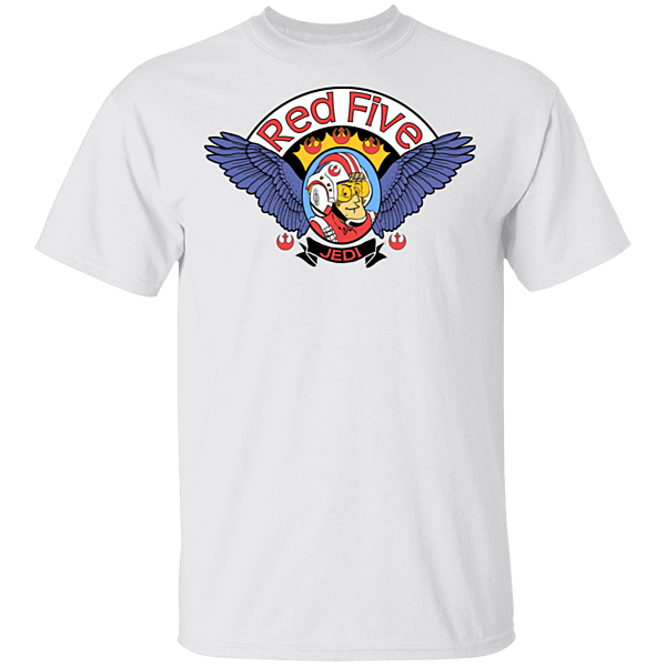 Pop-Up Tee: Roger Red Five Xwing