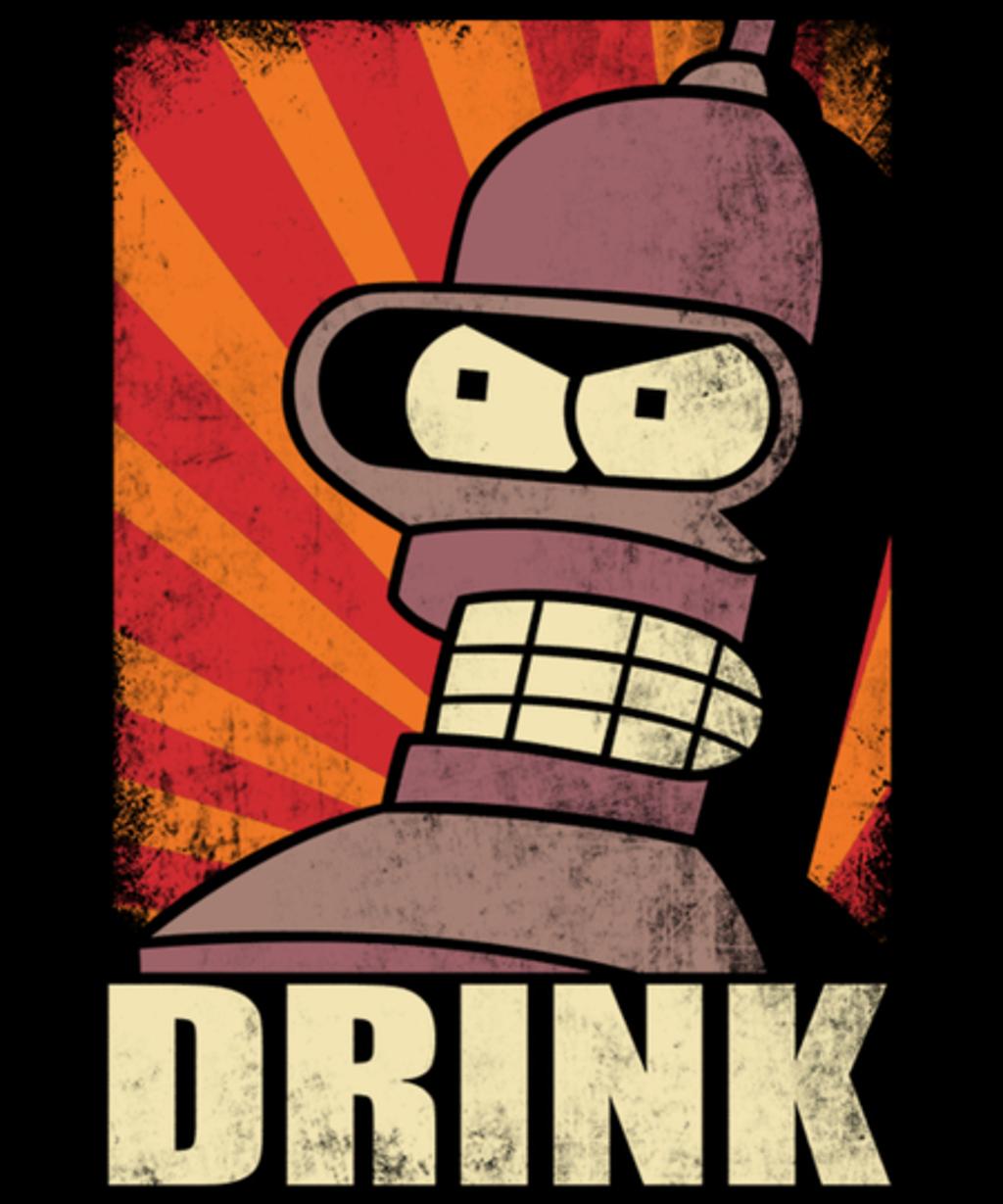 Qwertee: DRINK!