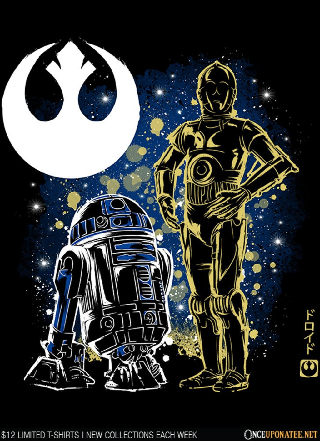 Once Upon a Tee: The Droids