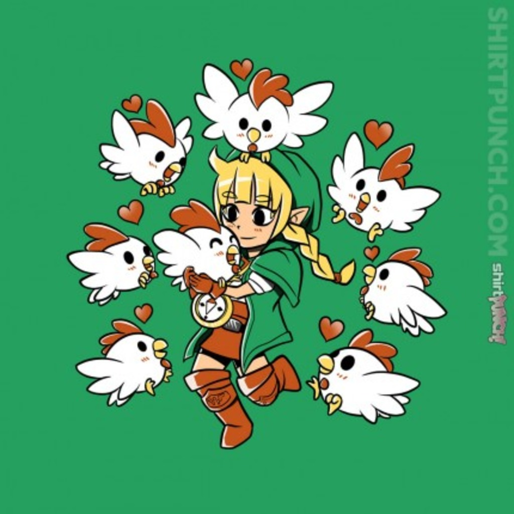 ShirtPunch: Linkle the Cucco Queen