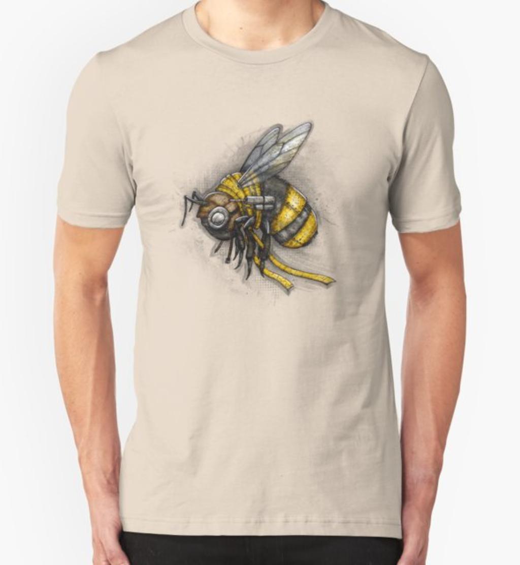 RedBubble: Bumblebee Shirt (Light Background)