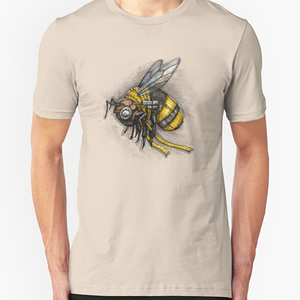 RedBubble: Bumblebee Shirt (Light Background)