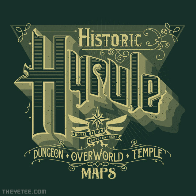 The Yetee: Historic Hyrule
