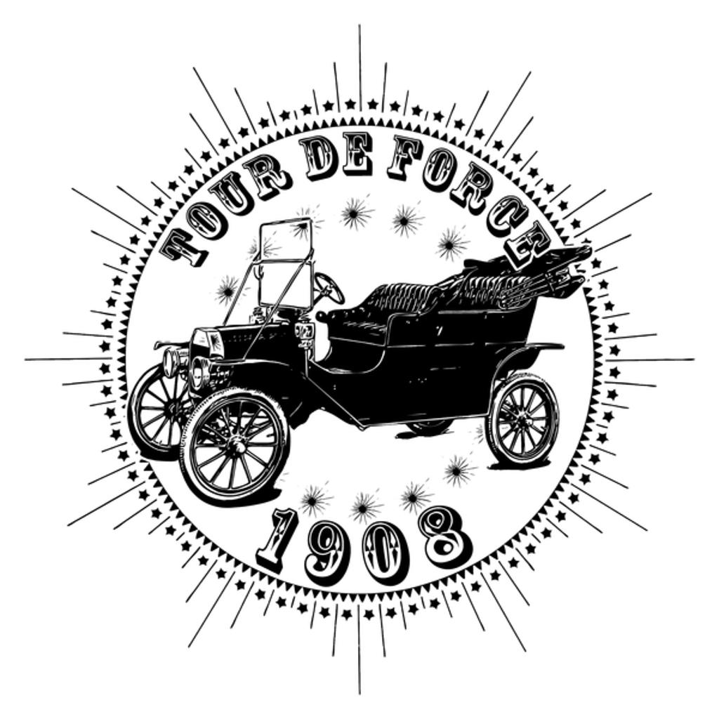 NeatoShop: Vintage Classic Car 1908 Tour De Force FT