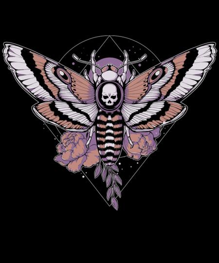 Qwertee: Death Moth