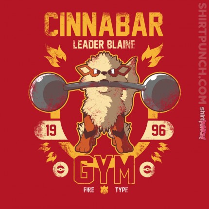 ShirtPunch: Cinnabar Gym