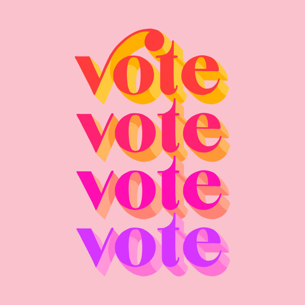 TeePublic: Vote Colorful