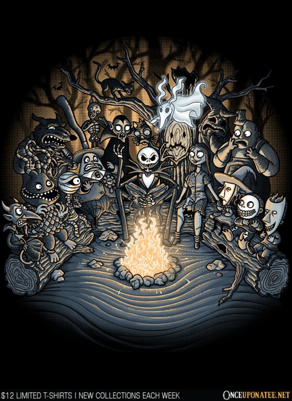 Once Upon a Tee: Halloween Tale