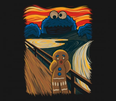 TeeFury: The Cookie Muncher