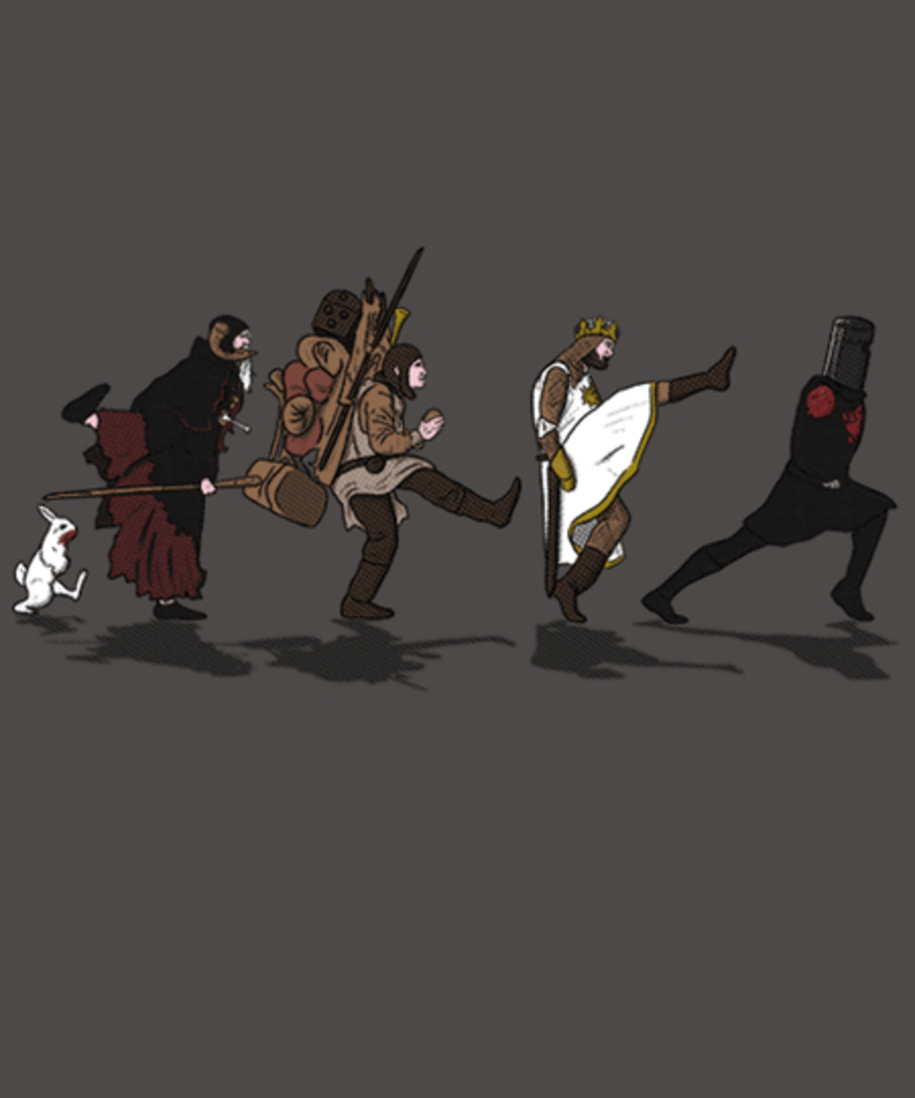 Qwertee: The Quest For The Silly Walk