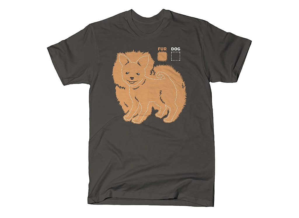 SnorgTees: Dog vs Fur Pomeranian