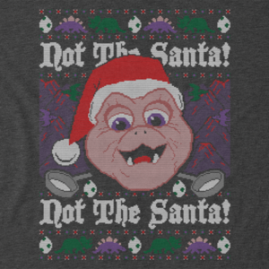 Pop-Up Tee: Not the Santa Dinosaurs