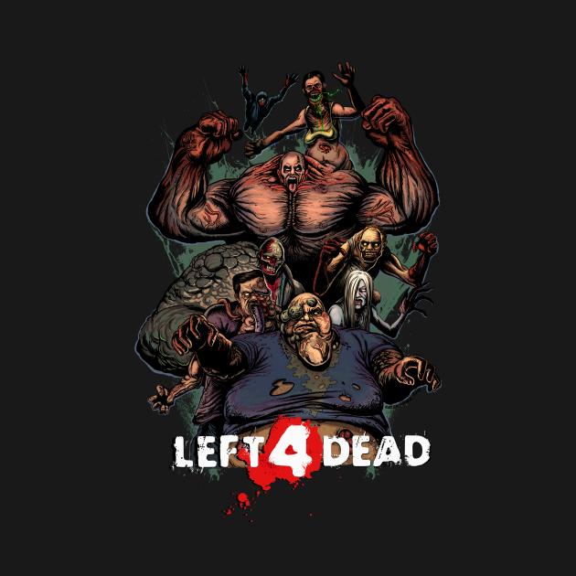 TeePublic: Valve Zombie Simulator