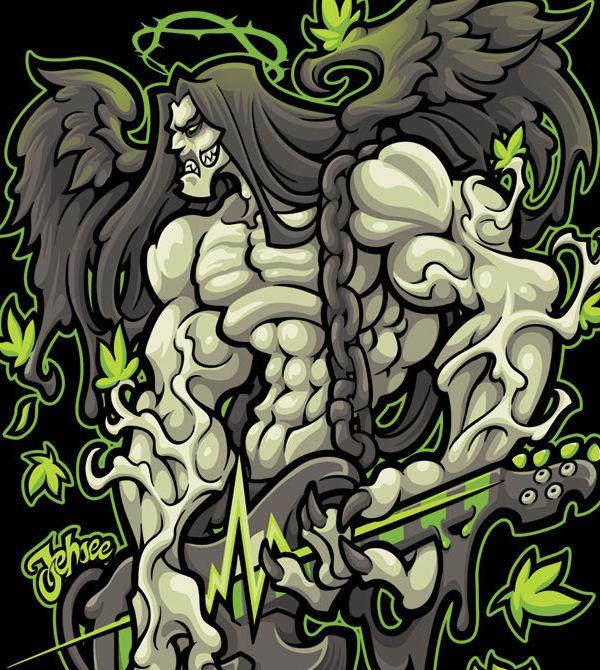 teeVillain: Green Man