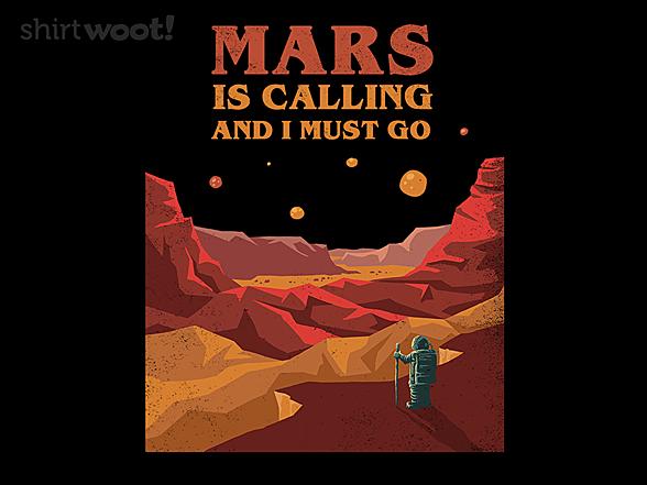Woot!: Mars Is Calling