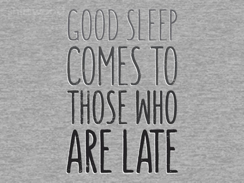 Woot!: Sleep Well
