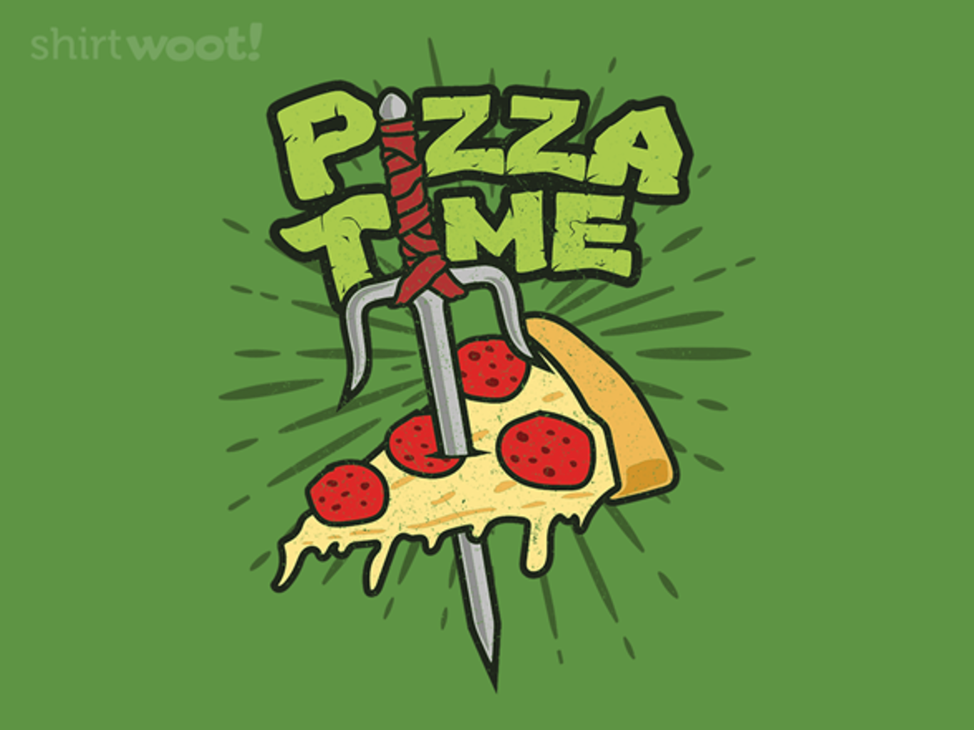 Woot!: Pizza Time! - $15.00 + Free shipping