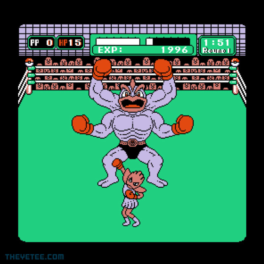 The Yetee: Machamp's Punch-Out!!