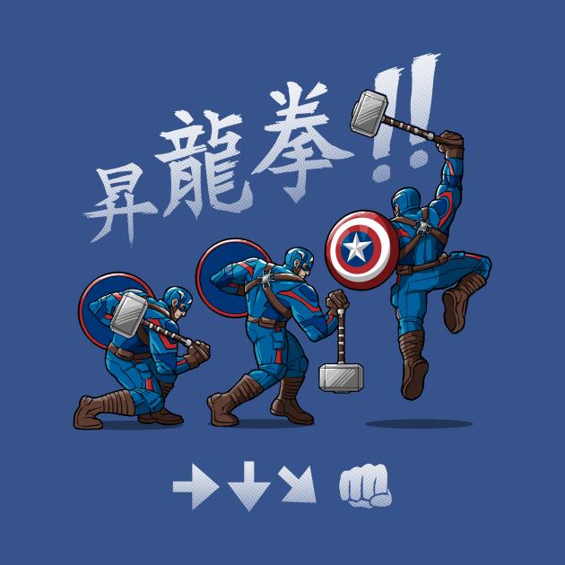 TeePublic: Captain Shoryuken
