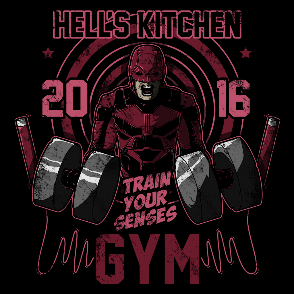 Pop-Up Tee: Hell's Gym