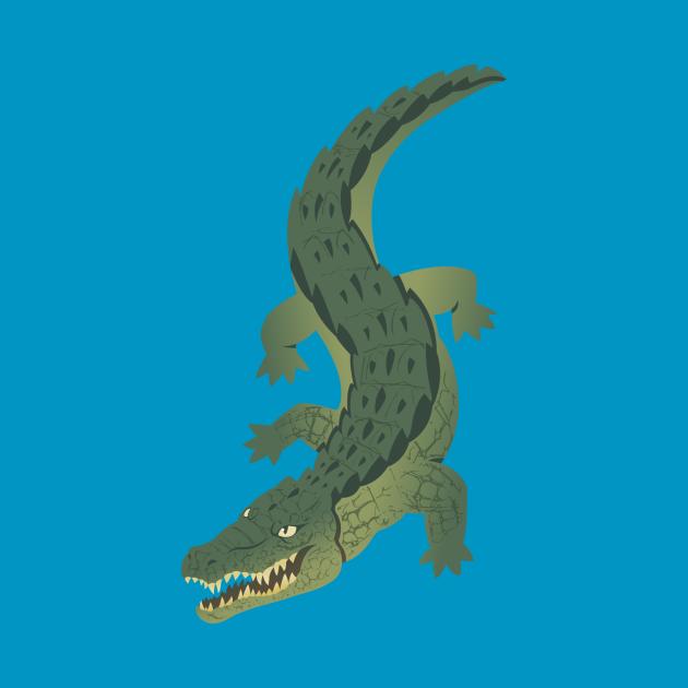 TeePublic: Crocodile 1