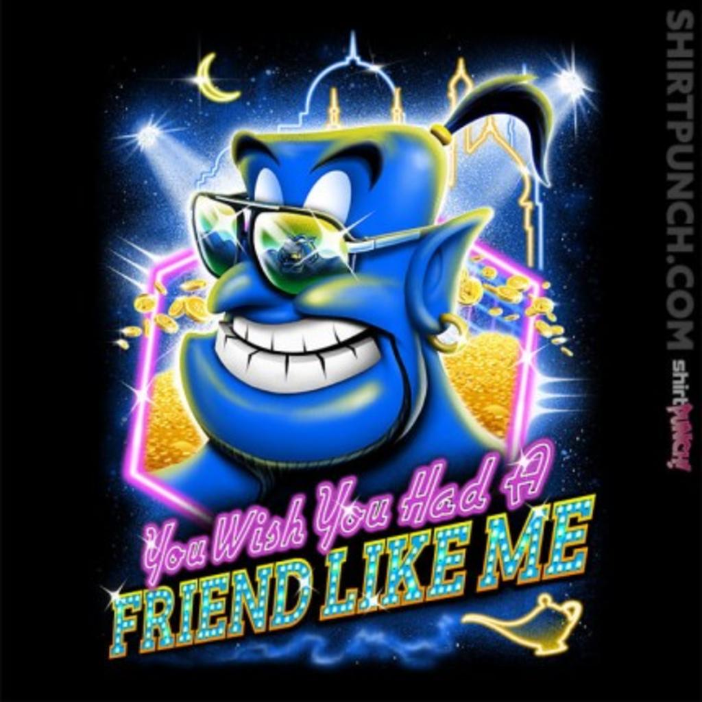 ShirtPunch: Friend like me