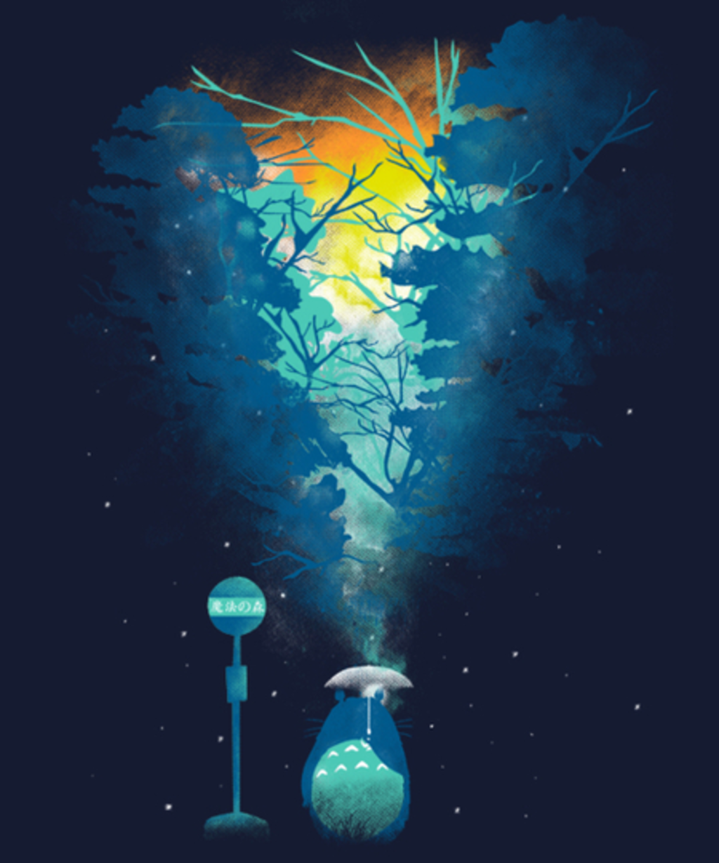 Qwertee: Magical bus stop