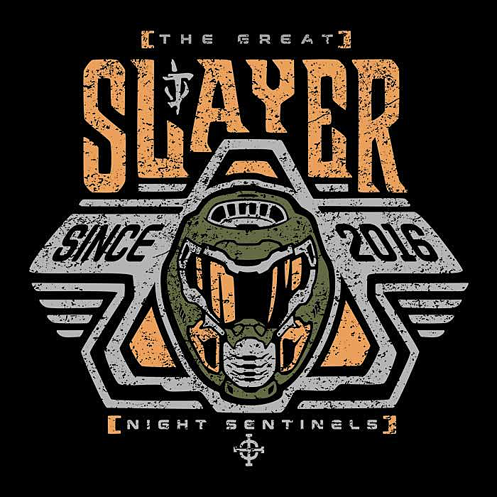 Once Upon a Tee: Space Slayer Marine