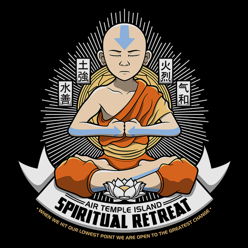 Pop-Up Tee: Spiritual Retreat